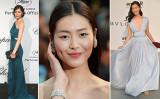中国湖南省出身スーパーモデル劉雯氏が昨年米フォーブス誌の「世界で最も稼ぐモデル」ランキングで8位獲得した。(Getty Images/大紀元より合成写真)