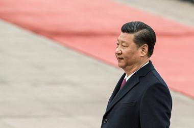 中国当局はこのほど、国家主席任期撤廃を盛り込んだ改憲案を提案した。(FRED DUFOUR/AFP/Getty Images)