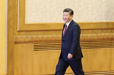 香港メディアなどはこのほど、中国の習近平国家主席は28~31日の日程で開催される党の重要会議「四中全会」で後継者を決めると報じた(Lintao Zhang/Getty Images)