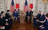 今回の日米首脳会談の主要議題は北朝鮮問題。(MANDEL NGAN/AFP/Getty Images)