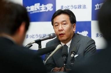 枝野幸男・立憲民主党代表(Getty Images)