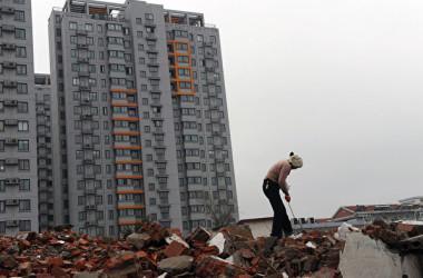 中国メディアはこのほど、中国の家計債務対国内総生産(GDP)比が53%を超えたと指摘した。専門家は住宅価格の高騰が家計債務拡大の主因だとした(Getty Images)