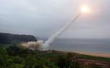 香港メディアによると、中国当局は近年スーパーコンピューターによる臨界核実験を頻繁に行っている(South Korean Defense Ministry via Getty Images)