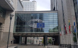 European Electronic Money Supervisory Commission main entrance in Brussels, Belgium. (EMSCOMM)