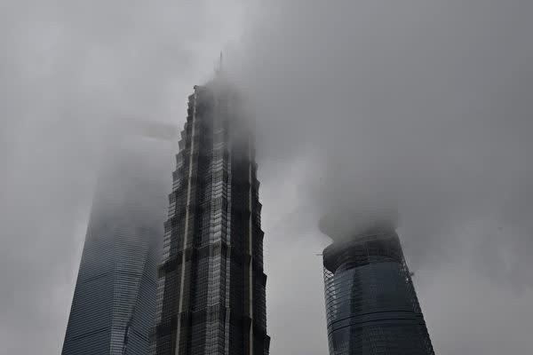 2018年、中国企業のデフォルト急増の恐れがあるとみられる(PETER PARKS/AFP/Getty Images)