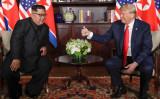 6月12日、トランプ米大統領は北朝鮮の金正恩(キム・ジョンウン)朝鮮労働党委員長と初となる首脳会談を行なった。(JonathanErnst)