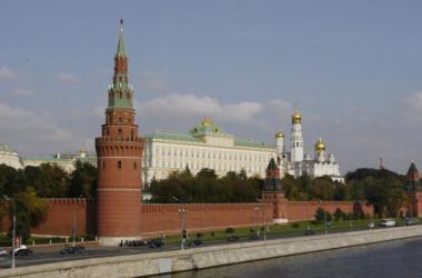 ロシアのクレムリン宮殿(MLADEN ANTONOV/AFP/Getty Images)