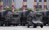 核弾頭搭載可能な中国のミサイル(Nir Elias/Reuters)