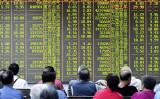 世界金融大手UBSはこのほど、米中通商協議が物別れに終われば、中国A株式市場は2割急落するとの見通しを示した(AFP/Getty Images)
