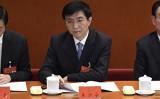 中国最高指導部でイデオロギー・プロパガンダの責任者である王滬寧氏が20日、約1カ月ぶり公の場に現れた(WANG ZHAO/AFP/Getty Images)