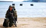 水陸起動団の中核となる西部方面普通科連隊の隊員(防衛省)