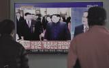 このほど中国の習近平国家主席が訪朝を見送ったことがわかった。写真は韓国のソウル駅。今年3月末韓国メディアが北朝鮮指導者の訪中の様子を報じた(JUNG YEON-JE/AFP/Getty Images)