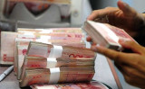 中国当局は9月13日、債務超過の地方融資平台(プラットフォーム)を清算し倒産させる方針を明らかにした(AFP)