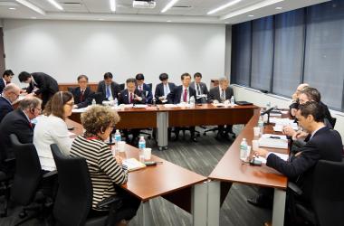 ニューヨークで9月25日、日本と米国、EUによる第4回三極貿易担当大臣会合が開かれた(@SekoHiroshige)