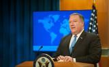 ポンペオ米国務長官は8日、中国を訪問した際に冷遇された( Rod Lamkey/Getty Images)