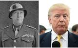 パットン将軍とトランプ大統領(Getty Images/大紀元合成)