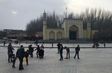 2018年2月、新疆ウイグル自治区カシュガル(GettyImages)