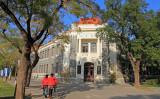 中国北京市にある清華大学キャンパス内の様子(大紀元資料室)