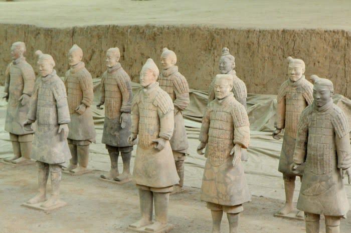 秦の始皇帝陵の兵馬俑(イメージ / Pixabay CC0 1.0)