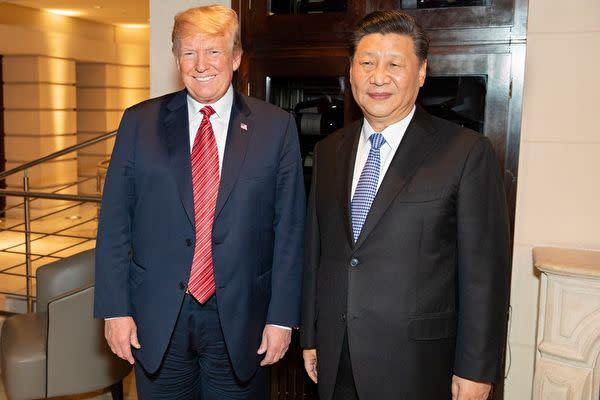2018年12月1日、トランプ米大統領と中国の習近平国家主席がアルゼンチンで首脳会議を行い、米中貿易摩擦をめぐって話し合った(米ホワイトハウスの公式ツイッターアカウントより)