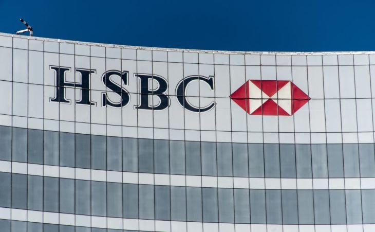 報道によると、HSBC(香港上海銀行)とスタンダード・チャータード銀行は、中国ファーウェイとの新規取引は行わないという(OMAR TORRES/AFP/Getty Images)