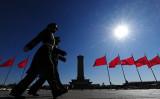 2019年を迎えた中国ではこのほど、「逢九必乱(末尾に9が付く年は必ず波乱する)」との論調が広がっている(FREDERIC J. BROWN/AFP/Getty Images)