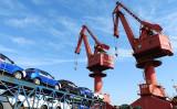 米非営利民間シンクタンク、全米産業審議会は2018年中国国内総生産(GDP)成長率は実際に4.1%だったと発表した。写真は中国の連雲港(AFP/Getty Images)