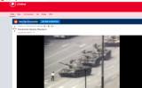 中国共産党当局が学生たちによる民主運動を武力鎮圧した「六四天安門事件」について、米サイト・ラディットで注目度が高まった(Radditスクリーンショット)