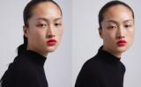 そばかすがあらわになったままのZARAの広告表現に「アジア人女性の侮辱」として、苦情が相次いだ(ZARA微博アカウントより)