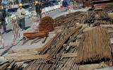 専門家はこのほど、中国国内企業のデフォルト増加は今年、中国経済が直面する最初の「灰色のサイ」だとの見方を示した(MARK RALSTON/AFP/Getty Images)