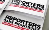 国境なき記者団はこのたび、中国共産党はメディア統制モデルを世界に輸出しており、民主主義の脅威になると報告した(BERTRAND GUAY/AFP/Getty Images)