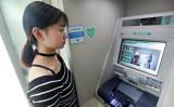2017年9月、中国の農業銀行は顔認証の導入を発表した。写真は同年9月14日、中国浙江省寧波市鄞州区にある農業銀行の支店内の様子(大紀元資料室)