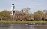 米マサチューセッツ州ボストン市にあるハーバード大学内の様子(fotolia.com)