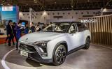 中国蔚来汽車の新型EV車「ES8」(大紀元資料室)