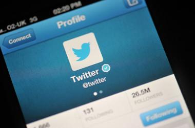 ソーシャルサービスのツイッター(Twitter)は、駐キプロス中国大使の黄星原氏の個人アカウントおよび在スリランカ中国大使館の公式ツイッターアカウントを凍結した(Bethany Clarke/Getty Images)