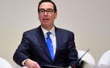 ムニューシン米財務長官は13日、現在行われている米中通商協議について「最終ラウンドに近づいている」と示唆した( Toby Melville WPA Pool/Getty Images)