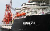 南シナ海 中国が初の深海掘削、エネルギー坑井が完成と発表(AFP/GettyImages)