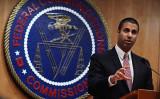 米連邦通信委員会(FCC)のアジット・パイ(Ajit Pai)委員長は17日、中国国有通信事業大手、中国移動の米国市場参入申請について却下する意向を示した (Alex Wong/Getty Images)