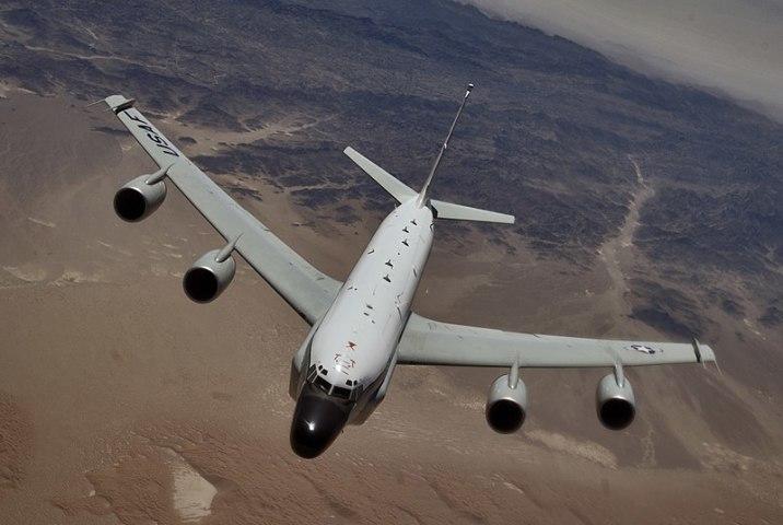 RC-135Wリベットジョイント(USAF)