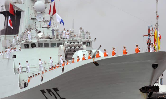 中国は海軍艦船の電子兵器を増強している(GettyImages)