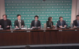 米シンクタンクで北朝鮮人権問題パネル、拉致被害者家族や米学生家族も参加(ハドソン研究所動画スクリーンショット)