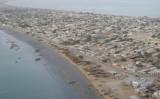 グワダルの海岸の上空からの光景(ウィキペディア)