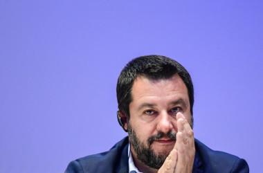 イタリアのマッテオ・サルビーニ副首相兼内相(Getty Images)