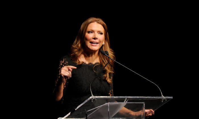Foxビジネス・ネットワークの女性司会者トリッシュ・レーガン氏(Craig Barritt/Getty Images for Jefferson Awards Foundation)