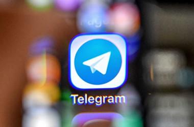 チャットアプリのTelegram(テレグラム)は12日夜、中国発とみられる大規模なサイバー攻撃を受けていると発表した(YURI KADOBNOV/AFP/Getty Images)