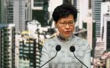 林鄭月娥・香港行政長官は議論を巻き起こしている「逃亡犯条例」改正案の採択を延期した(GettyImages)