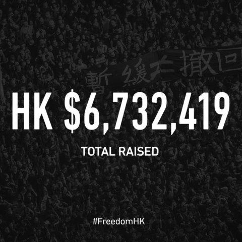 香港市民、国際紙広告キャンペーンに673万香港ドル調達を達成、大阪G20に向けて(FreedomHKGスクリーンショット)