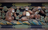 世界的に有名な日光東照宮の三猿像(Wikimedia Commons / Jakub Hałun CC BY-SA 4.0)