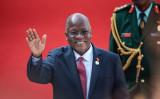 東アフリカの国タンザニアのマグフリ大統領は、中国投資の巨大港湾計画を停止した(GettyImages)