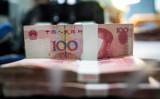 国際金融協会によると、今年1~3月期において中国の総負債は対GDP比で303%に達した(Getty Images)